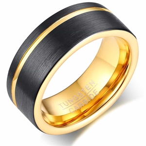Greek volfram ring (Tungsten)