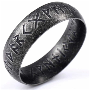 Rune Viking ring oxi